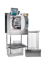 FOB 2 & 3 Laboratory Steam Steriliser, pass through version with load baskets for laboratory autoclave sterilisation